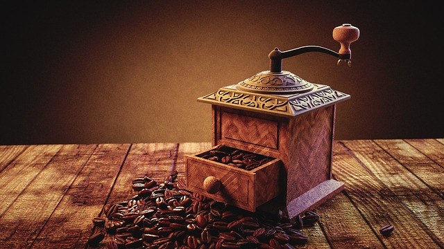 Wooden Hand Coffee Grinder